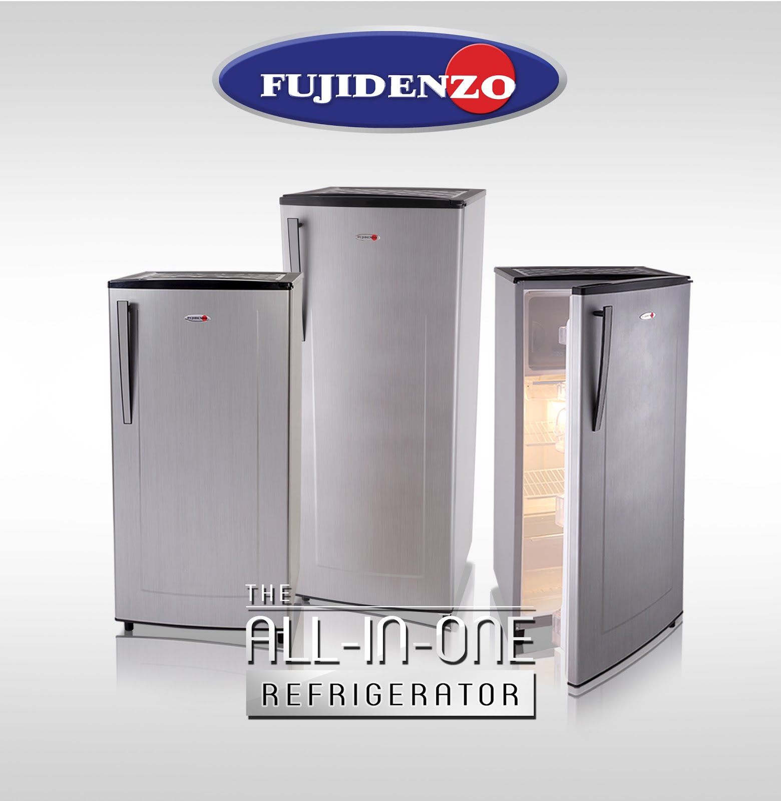 Introducing Fujidenzo's All-In-One Refrigerators