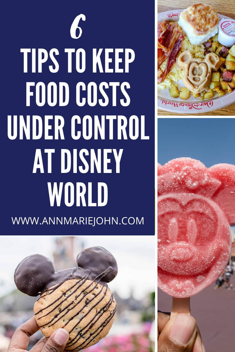 Six Tips to Keep Food Costs Under Control at Disney World