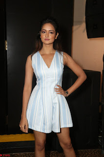 Shanvi Looks super cute in Small Mini Dress at IIFA Utsavam Awards press meet 27th March 2017 46.JPG