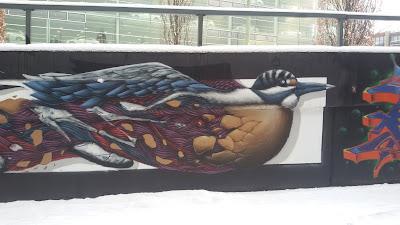 Wilde Vogeljagd... Donnersbergerstraße, München