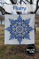 Flurry snowflake quilt pattern