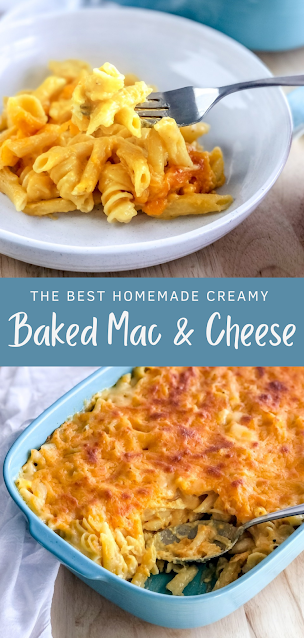 Homemade Baked Mac & Cheese