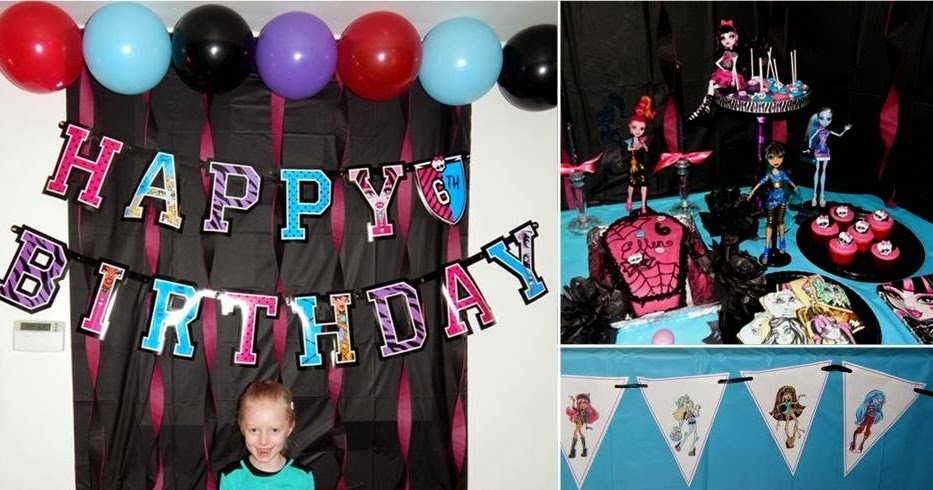 Sweet Treats By Sarah Monster High Birthday Party With