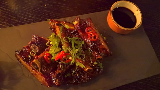 Masu Asian Bistro Tampere mallaspulla ravintola-arvio ribsit