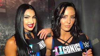 Peyton Royce Billy Kay Iconics Tag Team Women WWE