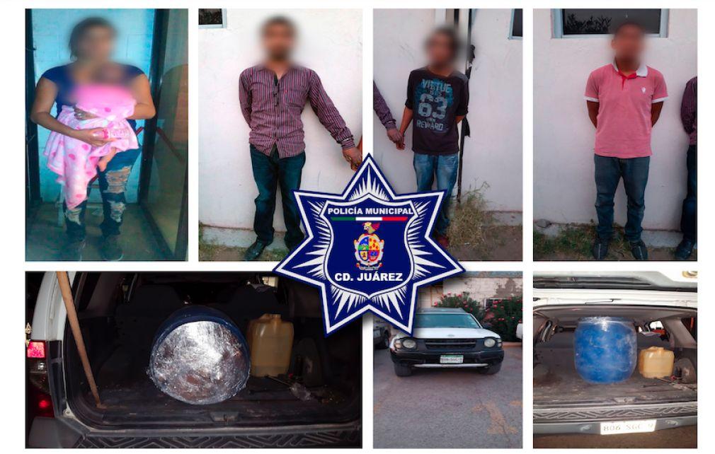 "Detienen a 4 integrantes del ""Cartel de Sinaloa"""
