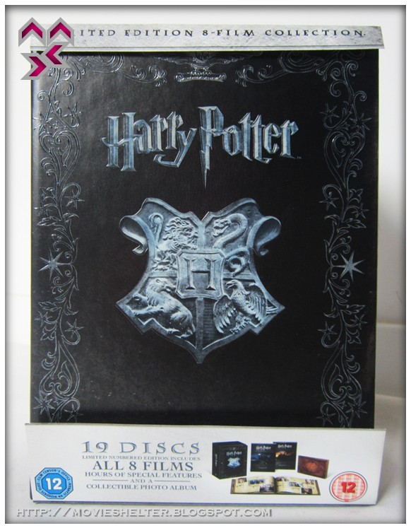 Harry Potter The Complete 8 Film Collection Blu Ray The Best