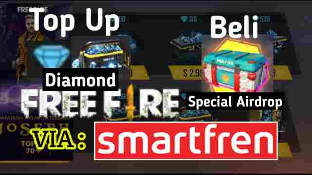 Cara Top Up Diamond Free Fire (FF) Menggunakan Pulsa Smartfren