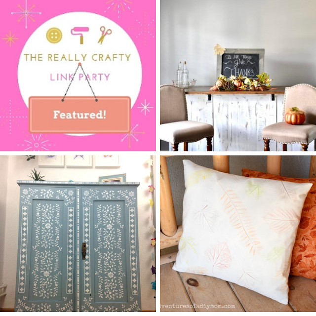 The Really Crafty Link Party #136 featured posts