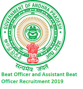 APPSC Forest Beat Officer and Assistant Beat Officer Recruitment 2019