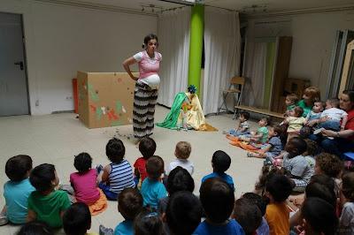 teatro infantil, para bebés, teatro para bebés, escuela infantil