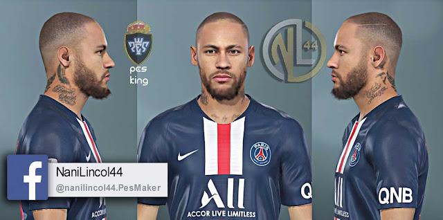 PES 2020/2019 Neymar Jr Bald by Nanilincol44