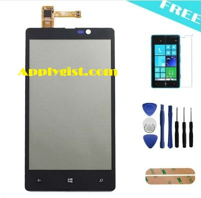 cheap phone replacement parts - For Nokia Lumia 820 Touch Screen Digitizer Touch Panel Replacement