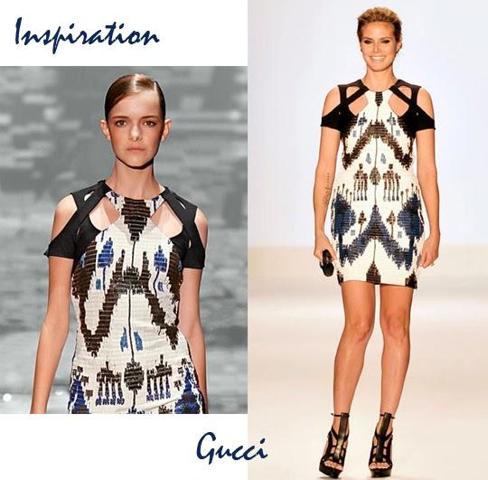 DIY: camiseta recortada inspirada en Gucci