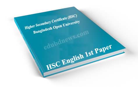 Bangladesh Open University (BOU) HSC English 1st paper Book ebook Free Download