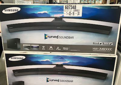 Get premium sound for your tv with the Samsung HW-JM6000C Curved Sound Bar