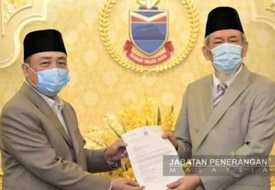 Hajiji Ketua Menteri Sabah Baharu