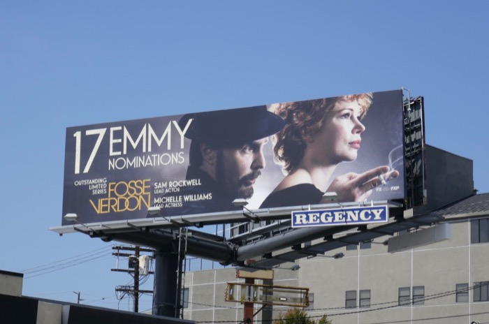 Fosse Verdon Emmy nominee billboard