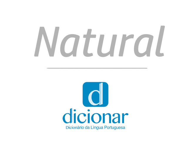Significado de Natural