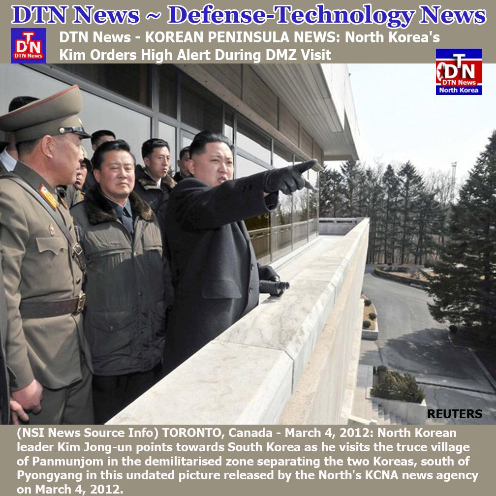 North Korea Latest News: NORTH KOREAN DEFENSE NEWS: Kim