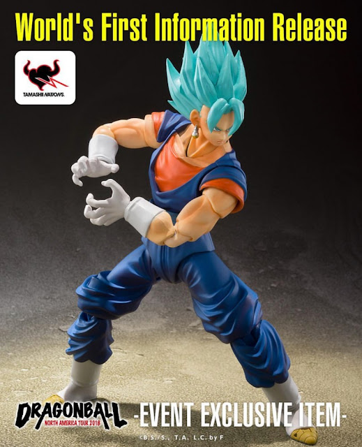 S.H.Figuarts Super God Saiyan SS Vegito Exclusive Color Edition de Tamashii Nations