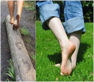 Health benefits and effects of walking barefoot