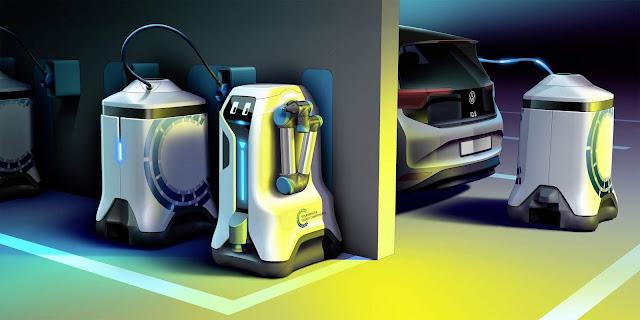 VW terá robô autônomo de carga de carros elétricos - vídeo