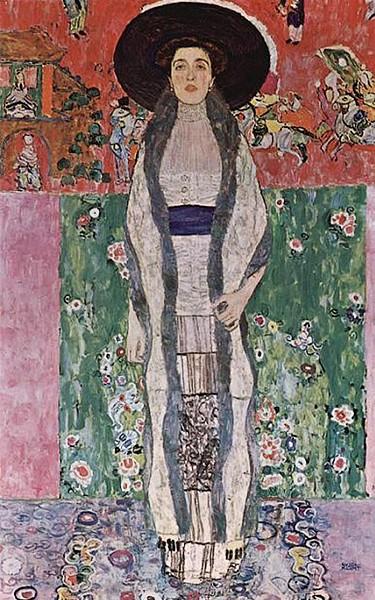 "Gustav Klimt - ""Retrato de Adele Bloch-Bauer II"
