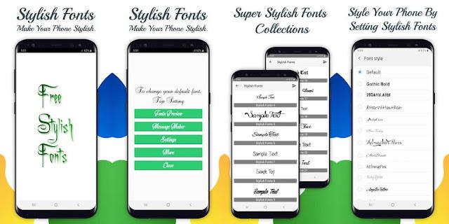 Stylish Fonts Aplikasi Font Android Terbaik dan Gratis