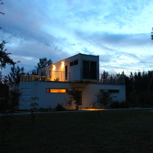 Headwaters Eco Retreat Shipping Container House, Florida 10