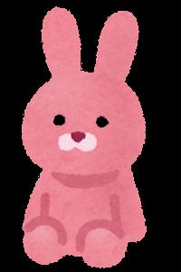 マジパンのイラスト(ウサギ)