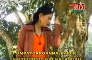 Lirik Lagu Toraja Pa'poraianna Tomendadiammu