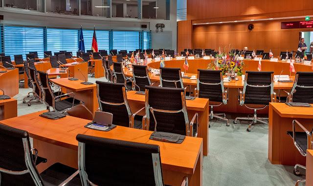 連邦首相府 会議室