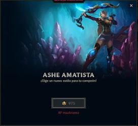skin de ashe amatista