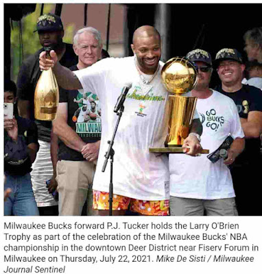 P.J. Tucker helped the Bucks win a title during his short stint. Now he'll sign with the Miami Heat.
