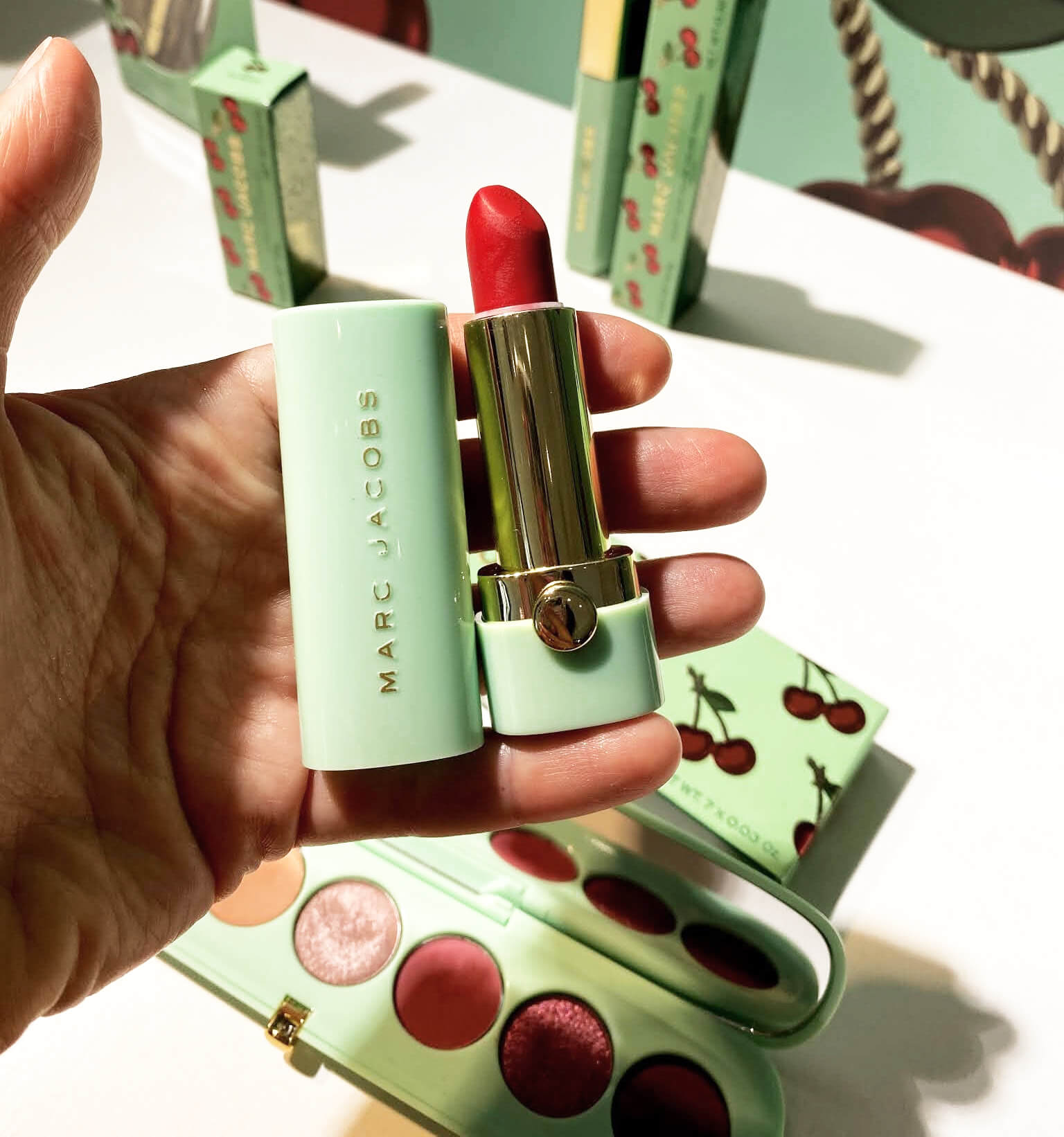 Marc Jacobs Merry Cherry Collection Noel 2020 rouge à lèvres