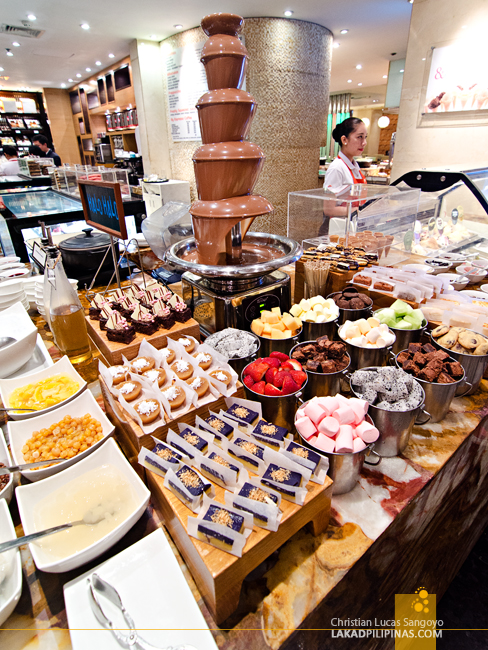 Marriott Café Manila Desserts Section
