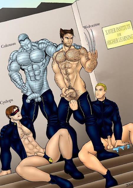translated wolverine cyclops comic xmen sex