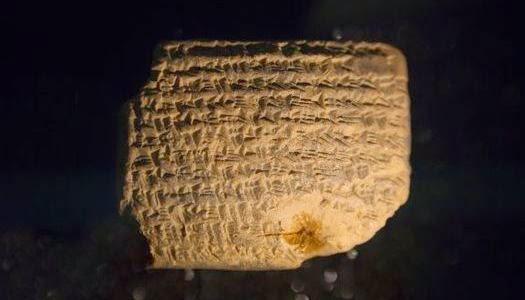 Antiguas tablillas exilio judío en Babilonia