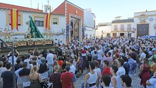 Suspendida la procesión de Santa Marta en Jerez de la Forntera