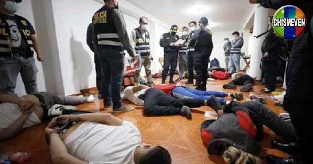 Capturada banda de 12 atracadores venezolanos en Perú
