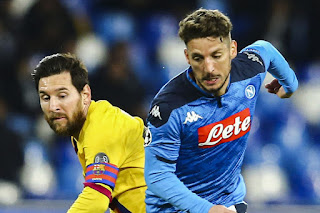 Dries Mertens: Napoli are confident of getting 'historic result' by Defeating Barca at Camp Nou
