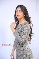 Actress Chandini Chowdary Pos in Short Dress at Howrah Bridge Movie Press Meet  0061.JPG