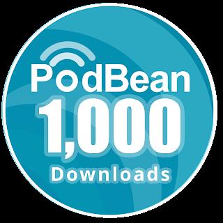 Podbean 1000 Downloads