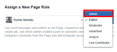 How To Make Someone Admin On Facebook Page<br/>