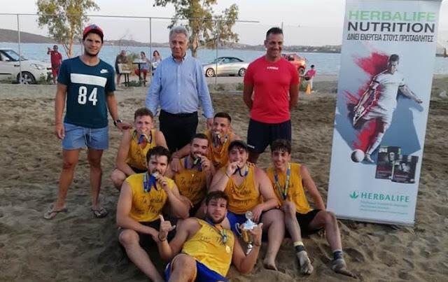 Με επιτυχία το 1ο Τουρνουά Beach Soccer στην Ερμιονίδα