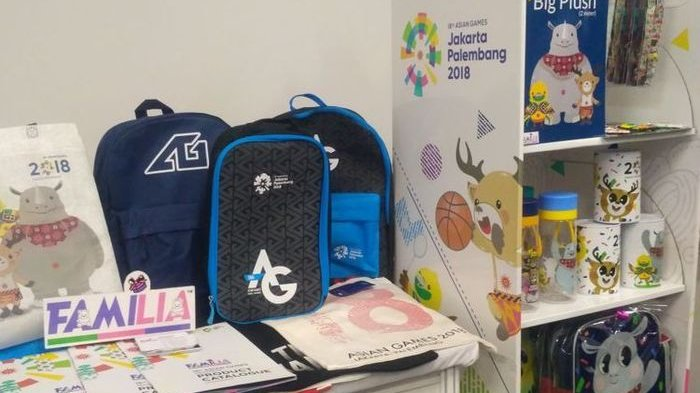 Beli Merchandise Asian Games Bukalapak