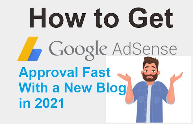 كيفية الحصول على موافقة Google Adsense بسرعة باستخدام مدونة جديدة