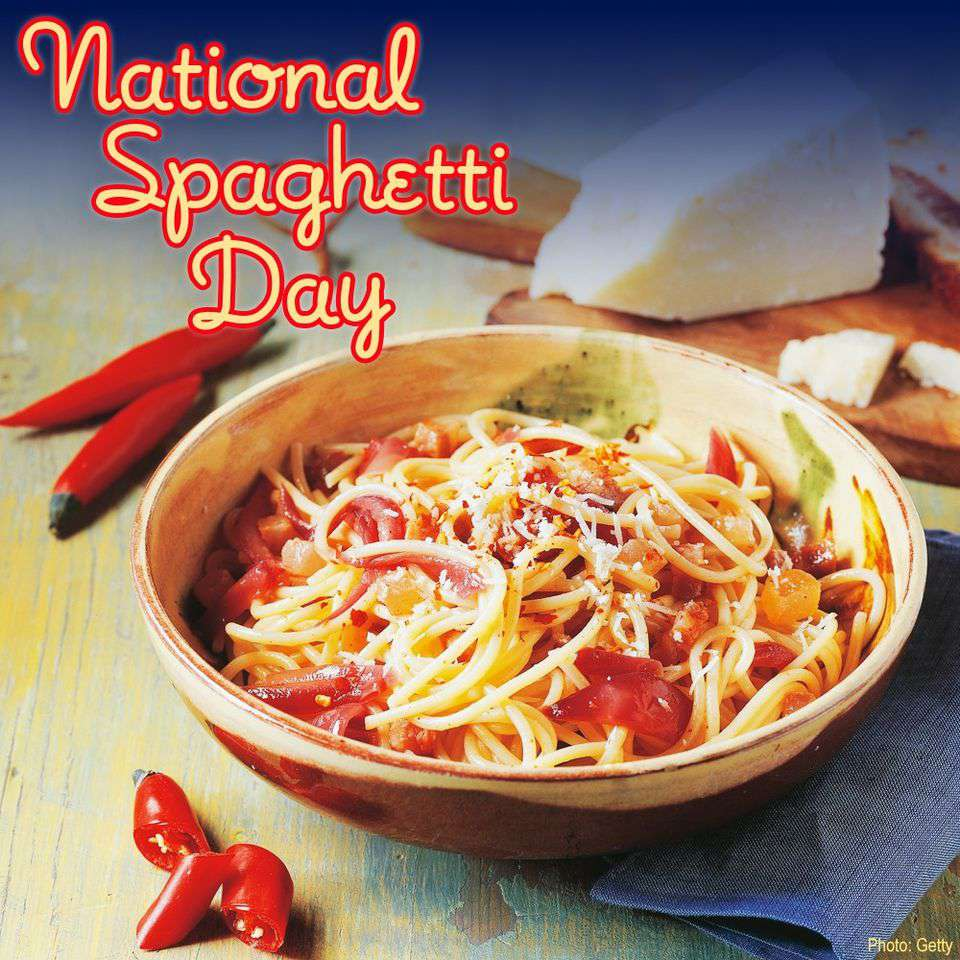 National Spaghetti Day Wishes Awesome Images, Pictures, Photos, Wallpapers