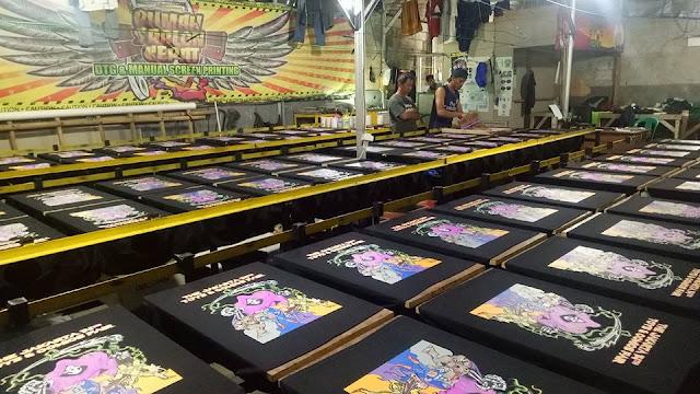 Tempat Jasa Konveksi Pembuatan Seragam Kaos Sablon Pekan Baru, Riau Terbaik